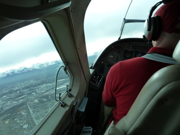 View from a Grant Aviation plane