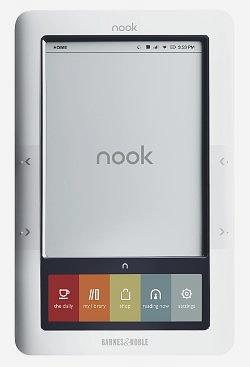 Barnes and Nobel Nook e-reader